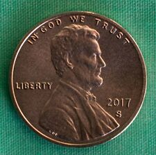 2017 S PROOF Lincoln Shield One Cent Enhanced Coin Made in USA 1c Penny