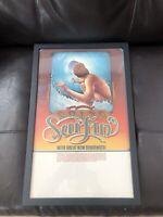 Going Surfin Framed Poster Bud Browne Gerry Lopez Lightning Bolt