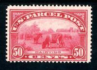 USAstamps Unused FVF US 1913 Parcel Post Dairying Scott Q10 OG MLH