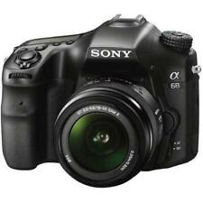 Sony Alpha a68 24.2MP Digital SLR Camera - Black (Kit w/ 18-55mm Lens)