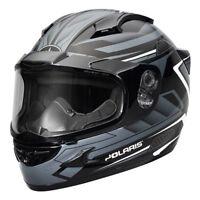 Polaris Cyclone 2.0 Gloss Black Anti-Fog Dual Lens Snowmobile Helmet, 2866116XX