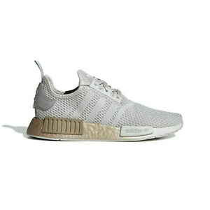 Adidas NMD R1 Women's Sneakers (Size 9) Grey Silver Gold FU9349