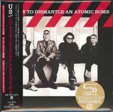 U2-HOW TO DISMANTLE AN ATOMIC BOMB-JAPAN MINI LP SHM-CD Ltd/Ed G00