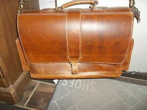 Hand tooled  Saddle Leather Sachel Messenger bag,