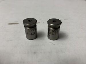 Pair CLYMER #499 GO/ #1198 NOGO Headspace GAUGE Gunsmithing Tools