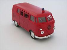 Welly Feuerwehr 1963 T1 Bus Volkswagen / Rückzugmotor / Druckgussmodel 1:39 OVP