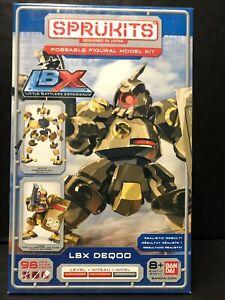 Sprukits LBX Deqoo Little Battlers Level2 Robot Model Kit Poseable Figure Bandai