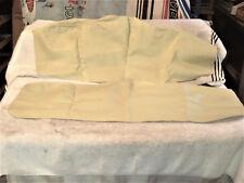 Door Arm Rest / Glove Box Section Cover, New Beige Pair . 53-55 Corvette