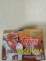 NEW unopened 2020 Topps SERIES 2 Baseball - Blaster Box - Target Exclusive