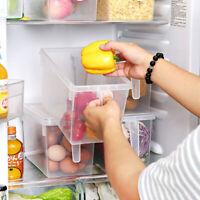 Kühlschrank Aufbewahrungsbox Gefrierschrank Organizer Deckel Griff Küche Früchte