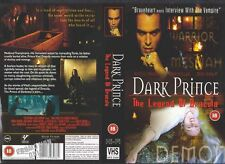 Dark Prince The Legend Of Dracula, VHS Video Promo Sample Sleeve/Cover #8575