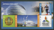 Tuvalu 2017 MNH Astana Kazakhstan Expo 2017 Future Energy 4v M/S Science Stamps