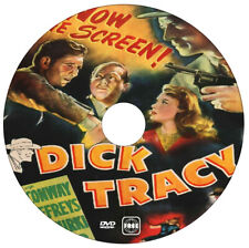 Dick Tracy Detective - Morgan Conway, Anne Jeffries, Mike Mazurki - 1945 - DVD
