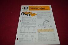 International Harvester 3514 Loader Tractor Dealer's Brochure YABE10