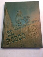 Vtg 1949 Yearbook California State Polytechnic College El Rodeo San Luis Obispo