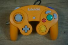 Nintendo Official Game Cube GC Wii U Controller Orange DOL-003 Very Good Working