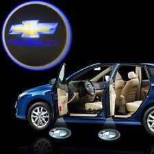 Chevrolet logo cree led fantôme ombre porte lumière laser kit paire aveo matiz