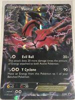 Pokemon Card YVELTAL EX Ultra Rare Holo X&Y Promo XY08