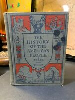 The History Of The American People 1925 Beard And Bagley California Textbook