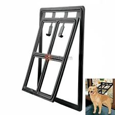 magnet easy screen pet door for screens for medium and large dogs cats kitty