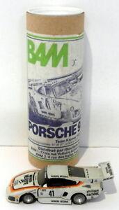 BAM Models 1/43 Scale White Metal 101 - Porsche 935K3 - Team Kremer Le Mans 1979