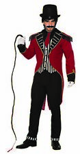 Mystery Circus Dashing Ringmaster Costume Circus Lion Tamer Adult Standard Mens