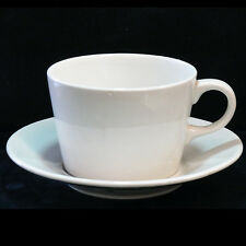Arabia TEEMA Cup & Saucer WHITE NEW NEVER USED porcelain made in Finland