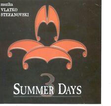 VLATKO STEFANOVSKI CD 3 Summer days Film music Three Aerobic Love theme Friends