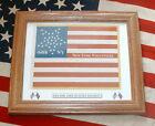 34 Star, Civil War National Flag....64th New York Infantry Flag