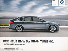 PROSPEKT BMW 5er GRAN TURISMO GT 2010 D 0 11 005 094 10 1 Car Brochure Auto PKW