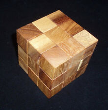 Interlock 4   Stewart Coffin Design wood brain teaser p