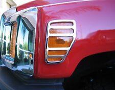 2006-2010 H3 Hummer Chrome Billet Aluminum Side Marker Light Surrounds Covers