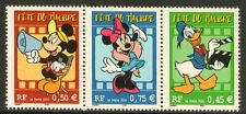 TIMBRE T3641a NEUF XX LUXE -MICKEY + MINNIE + DONALD - FETE DU TIMBRE 2004