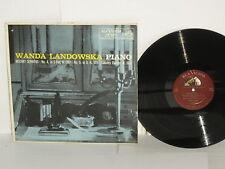 Wanda Landowska Mozart Sonatas 1956 LP RCA Shaded Dog LM2205 Country Dances