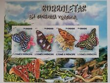 Sao Tome & Principe 2015 / Tropical Forest Butterflies / 4v minisheet MNH