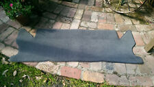 Land Rover Discovery 1 and 2  rear carpet mat, grey or black