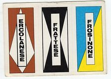 [JC] FIGURINA CALCIO FLASH 1984 SCUDETTO ERCOLANESE FRATTESE FROSINONE