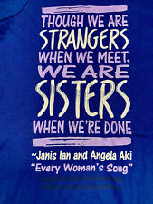 Janis Ian/San Diego Women's Chorus Every Woman's Song Concert T-shirt