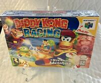 Diddy Kong Racing Nintendo 64 New Factory Sealed Tear In Wrap On Side