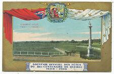 Monument Wolfe Plaines D´Abraham, Souvenir Officiel Quebec 1608-1908