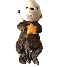 "Fiesta Stuffed Animal Plush  Lazy-36"" Sea Otter Brown /White 39""X13"" Preowned"