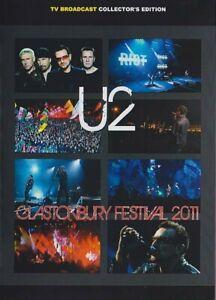 U2 live dvd Glastonbury Festival proshoot  Full Live  ottimo audio imballato