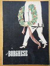 1954-IL BORGHESE-Direttore LEO LONGANESI-Anno V, Numero 25