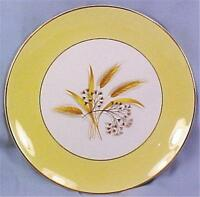 Autumn Gold Dinner Plate Century Service Corp Wheat Yellow Bands