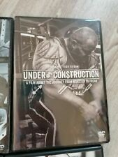 BRAND NEW Bodybuilding DVD Dave Crossland UNDER CONSTRUCTION bodybuilding