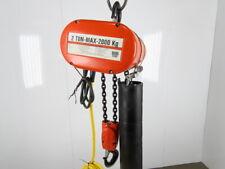 Cm Lodestar Model R 2 Ton 4000lb Electric Chain Hoist 18 Lift 8fpm 3ph Tested