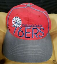 Vtg 90s Philadelphia 76ers The Game Snapback Hat Cap NBA Ltd Ed 936/2000  1 size