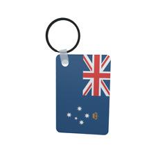 Schlüsselanhänger Flagge Fahne Victoria Alu 40 x 57 mm