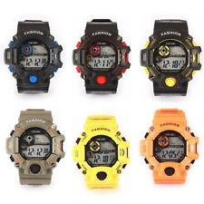 Children's Touch Sports Silicone Bracelet Date Digital LED WristWatch Waterproof