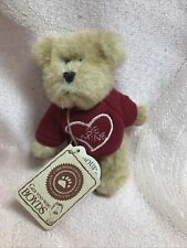 New ListingBoyds Bears Mini Message Bear Forever Luv